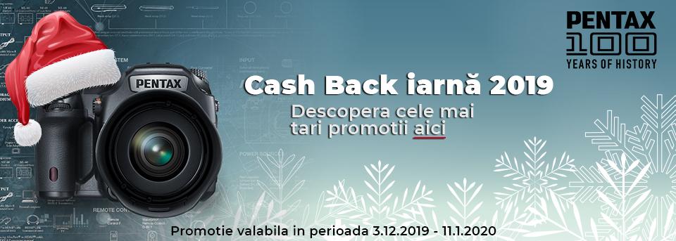 Cashback Iarna 2019 PENTAX RICOH