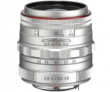 Obiectiv Foto HD Pentax-DA 20-40mm F3.5-5.6 ED DC WR Silver