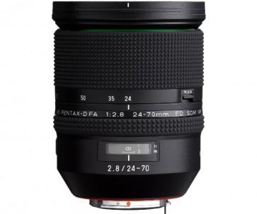 Obiectiv Foto HD Pentax-D FA 24-70mm F2.8 ED SDM WR