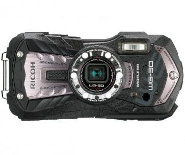Aparat foto compact Ricoh WG-30 Wi-Fi Carbon Gray