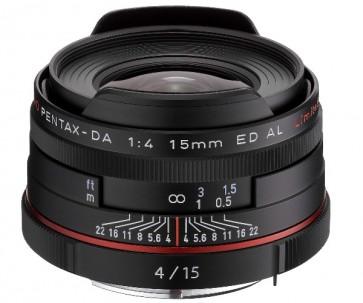 Obiectiv Foto HD Pentax-DA 15mm F4 ED AL Limited Black