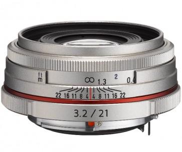 Obiectiv Foto HD Pentax-DA 21mm F3.2 AL Limited Silver