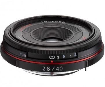 Obiectiv Foto HD Pentax-DA 40mm F2.8 Limited Black