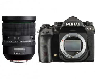 Aparat foto DSLR Pentax K-1 + D-FA 24-70mm F2.8 WR
