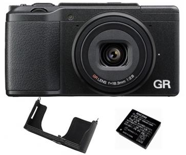 Aparat foto compact Ricoh GR II Kit