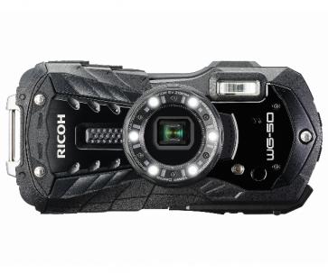 Aparat foto compact Ricoh WG-50 Black