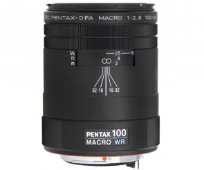 Obiectiv Foto SMC Pentax-D FA 100mm F2.8 Macro WR