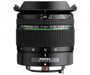 Obiectiv foto HD Pentax-DA Fish-Eye 10-17mm F3.5-4.5 ED