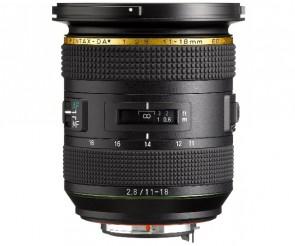 Pentax HD DA* 11-18mm F2.8 ED DC AW