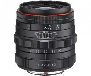 Obiectiv Foto HD Pentax-DA 20-40mm F3.5-5.6 ED DC WR Black