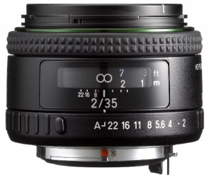 Obiectiv Foto HD PENTAX-FA 35mm F2 AL