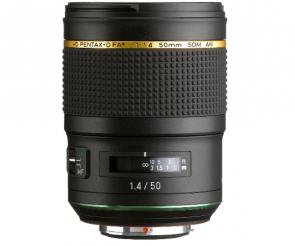 Obiectiv Foto HD Pentax-D FA* 50mm F1.4 SDM AW