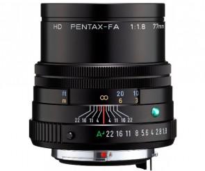 Obiectiv foto HD Pentax-FA 77mm F1.8 ED Limited Black