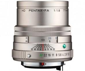 Obiectiv foto HD Pentax-FA 77mm F1.8 ED Limited Silver
