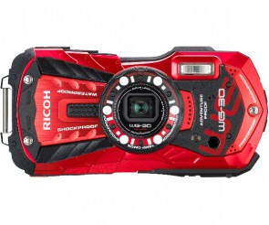 Aparat foto compact Ricoh WG-30 Vermilion Red