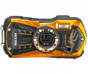 Aparat foto compact Ricoh WG-30 Wi-Fi Flame Orange