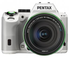 Aparat foto DSLR Pentax K-S2 White + DA 18-135mm WR