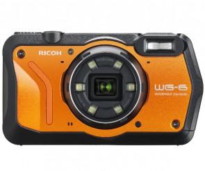 Aparat foto compact Ricoh WG-6 Orange