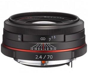 Obiectiv Foto HD Pentax-DA 70mm F2.4 Limited Black