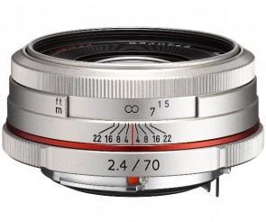 Obiectiv Foto HD Pentax-DA 70mm F2.4 Limited Silver