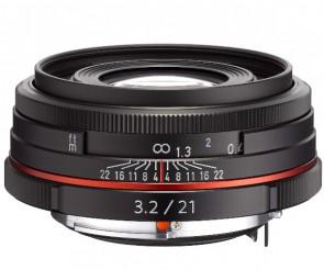Obiectiv Foto HD Pentax-DA 21mm F3.2 AL Limited Black