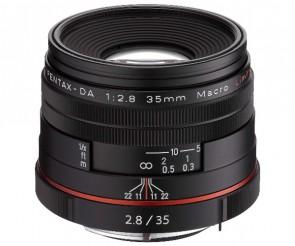 Obiectiv Foto HD Pentax-DA 35mm F2.8 Macro Limited Black
