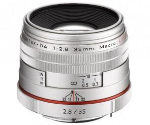 Obiectiv Foto HD Pentax-DA 35mm F2.8 Macro Limited Silver