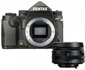 Aparat foto DSLR Pentax KP + DAL 18-50mm WR-Black