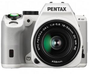 Aparat foto DSLR Pentax K-S2 White + DAL 18-50mm WR