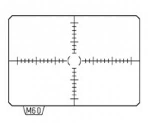 Matte Focusing Screen Pentax MI-60 AF Scaled