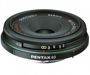 Obiectiv Foto SMC Pentax-DA 40mm F2.8 Limited Black