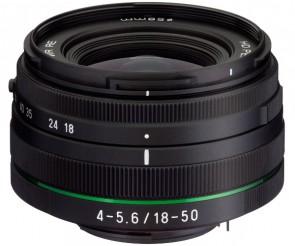 Obiectiv Foto HD Pentax-DA 18-50mm F4-5.6 DC WR RE