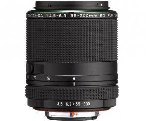 Obiectiv Foto HD Pentax-DA 55-300mm F4.5-6.3 ED PLM WR RE