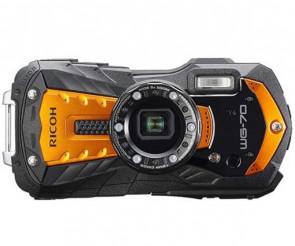 Aparat foto compact Ricoh WG-70 Orange